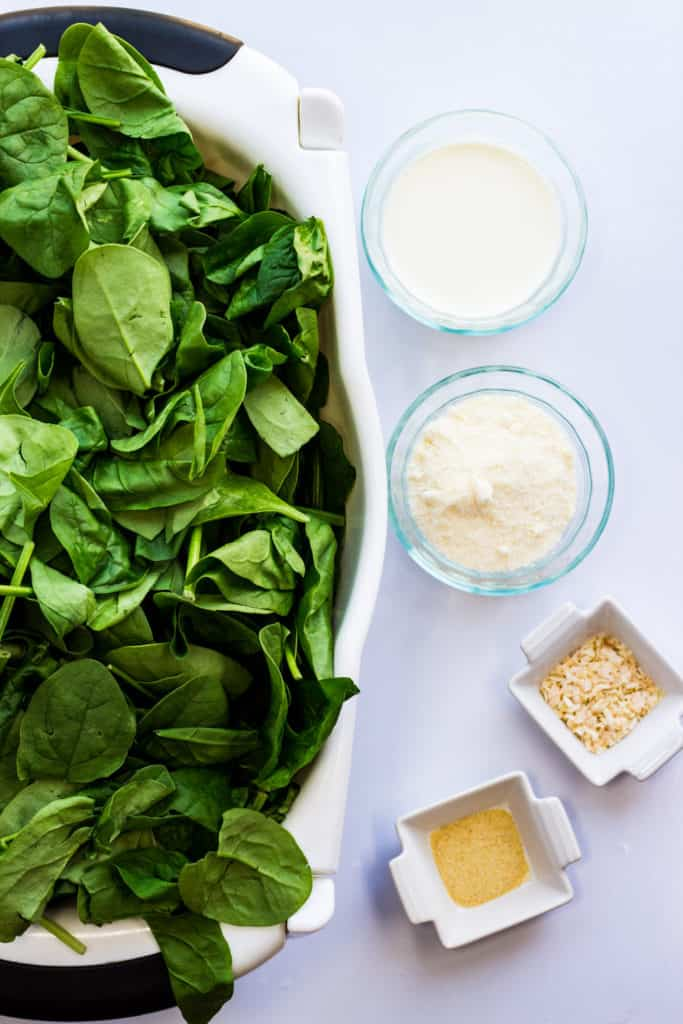 steakhouse keto creamed spinach