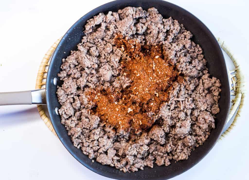 add the keto taco seasoning