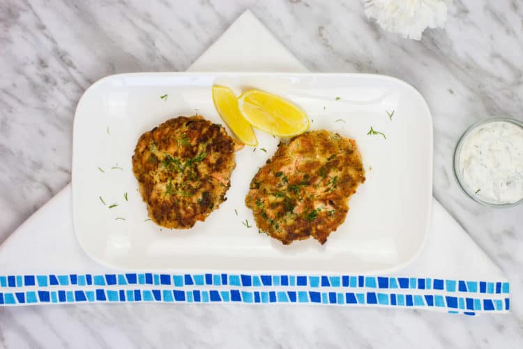The BEST Keto Salmon Patties
