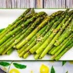 air fryer asparagus with garlic